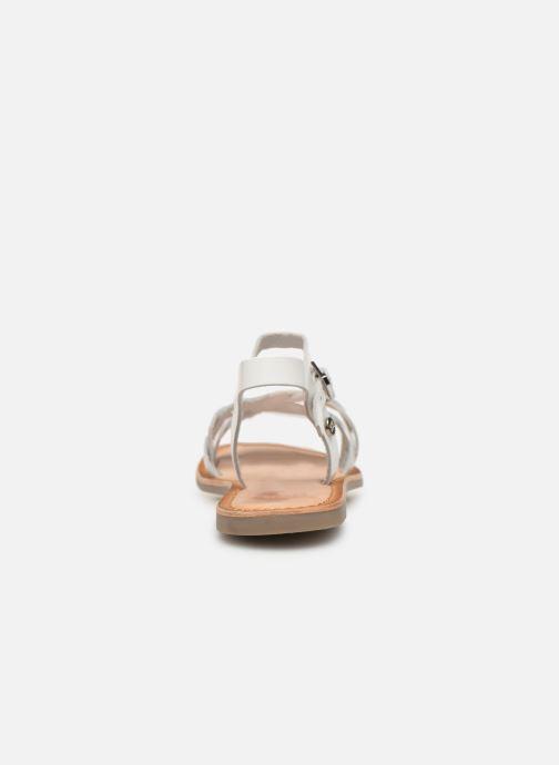 Sandales et nu-pieds Gioseppo SCANDICCI Blanc vue droite