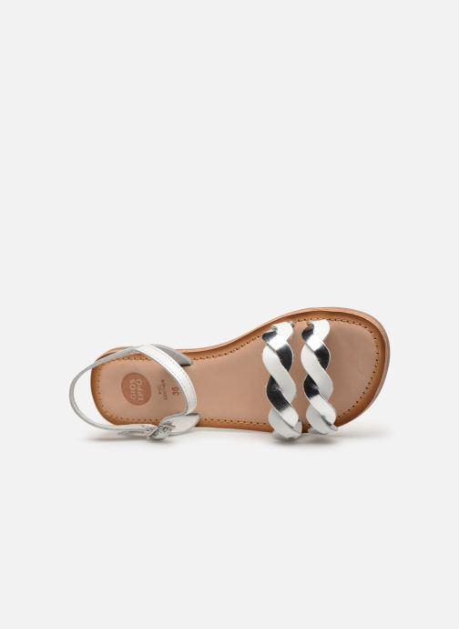 Sandales et nu-pieds Gioseppo SCANDICCI Blanc vue gauche
