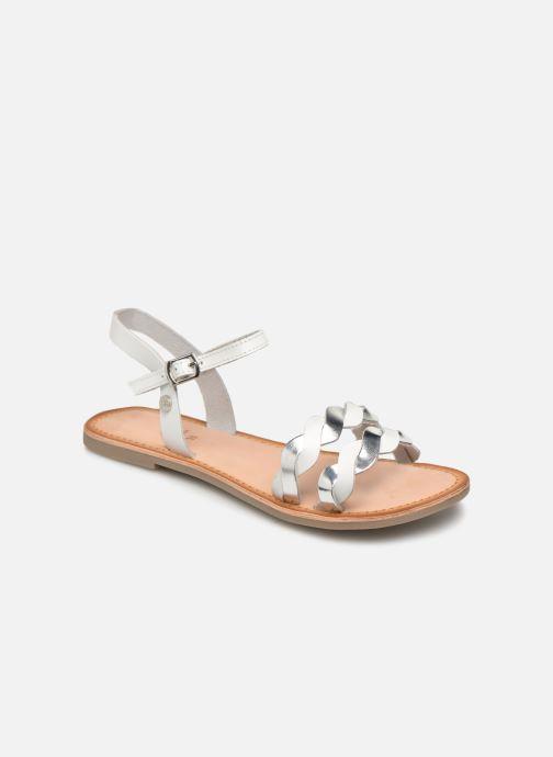 Sandales et nu-pieds Gioseppo SCANDICCI Blanc vue détail/paire