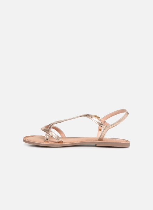 Sandals Gioseppo 44993 Bronze and Gold front view