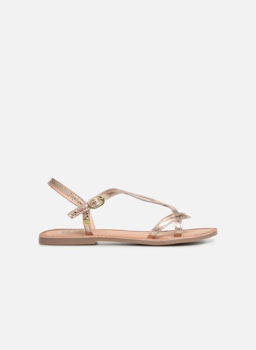 Sandales et nu-pieds Gioseppo 44993 Or et bronze vue derrière