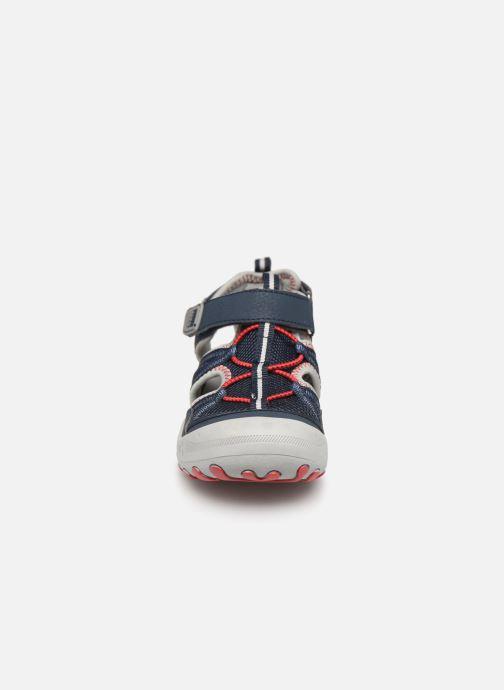 Sandales et nu-pieds Gioseppo 47402 Bleu vue portées chaussures