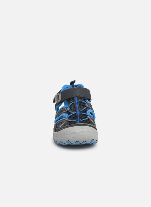 Sandales et nu-pieds Gioseppo 47402 Gris vue portées chaussures