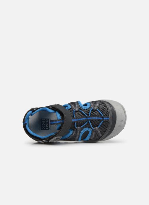 Sandales et nu-pieds Gioseppo 47402 Gris vue gauche