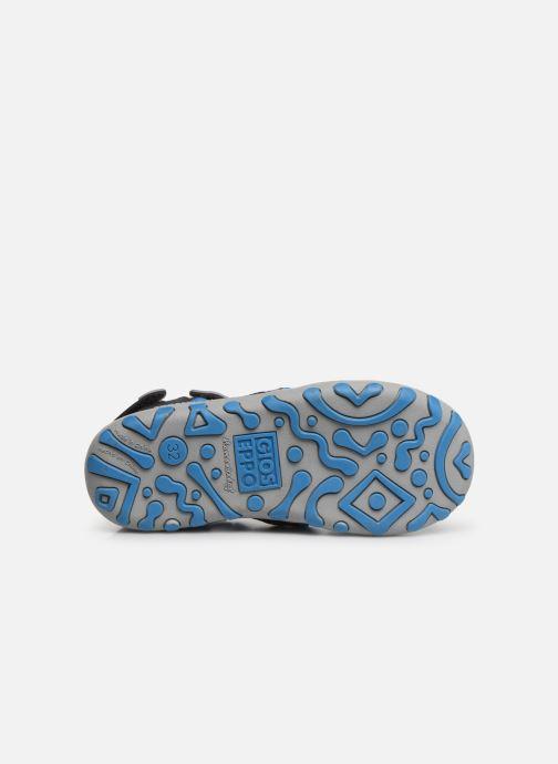 Sandales et nu-pieds Gioseppo 47402 Gris vue haut