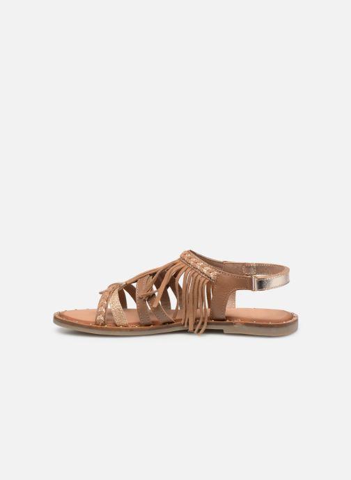 Sandales et nu-pieds Gioseppo LATERINA Marron vue face