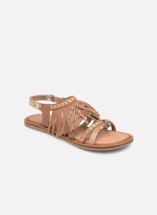 Sandales et nu-pieds Gioseppo LATERINA Marron vue détail/paire