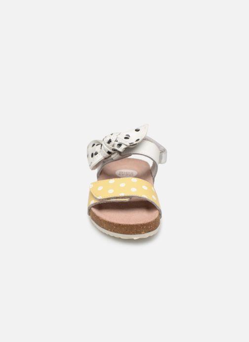 Sandales et nu-pieds Gioseppo POZZUOLI Blanc vue portées chaussures