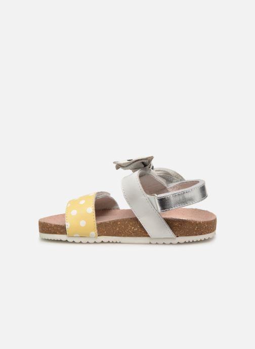 Sandales et nu-pieds Gioseppo POZZUOLI Blanc vue face
