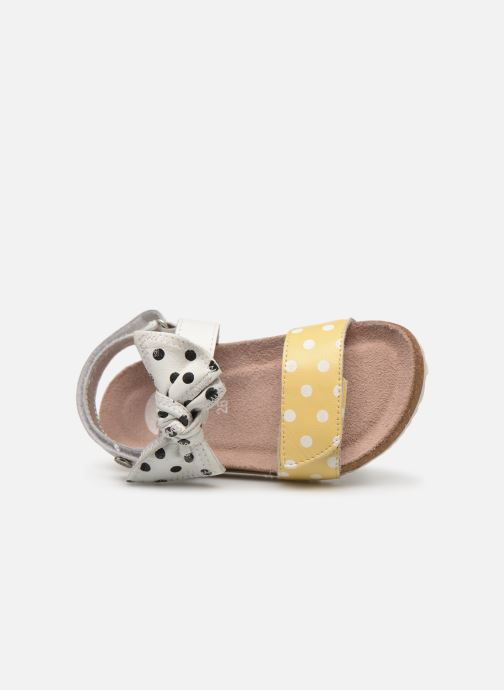 Sandales et nu-pieds Gioseppo POZZUOLI Blanc vue gauche