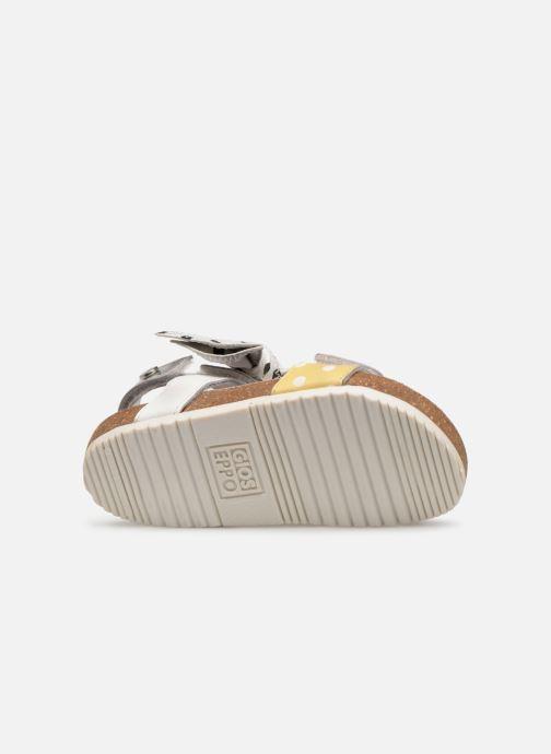 Sandales et nu-pieds Gioseppo POZZUOLI Blanc vue haut