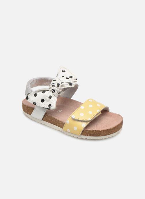 Sandales et nu-pieds Gioseppo POZZUOLI Blanc vue détail/paire