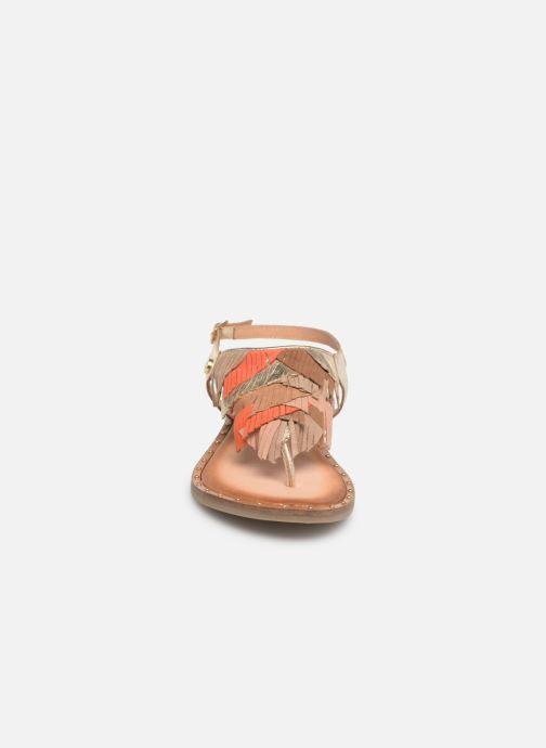Sandals Gioseppo CATANZARO Bronze and Gold model view