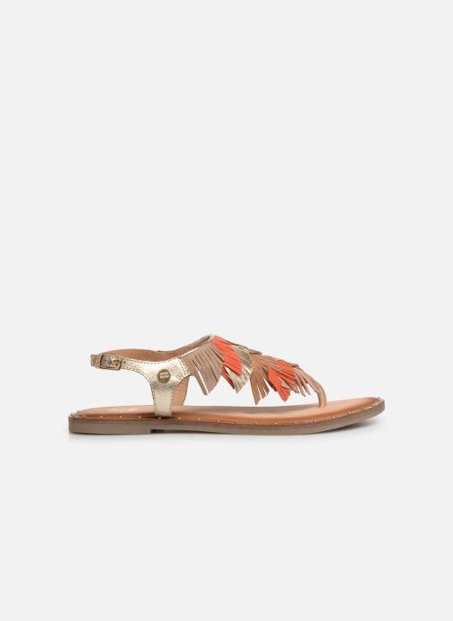 Sandals Gioseppo CATANZARO Bronze and Gold back view