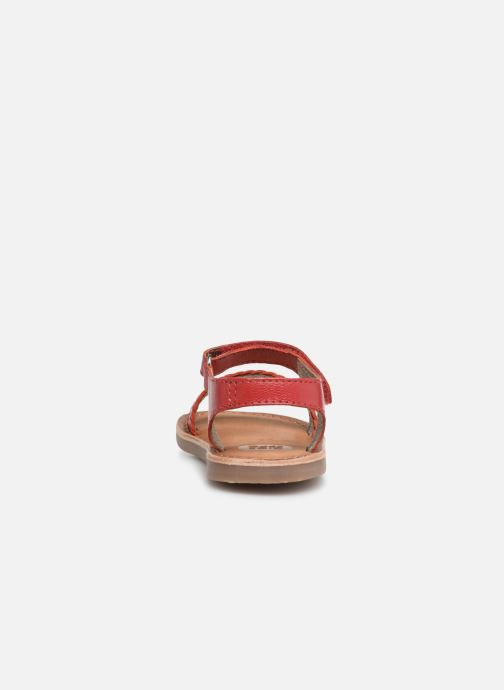 Sandals Gioseppo ODERZO Red view from the right