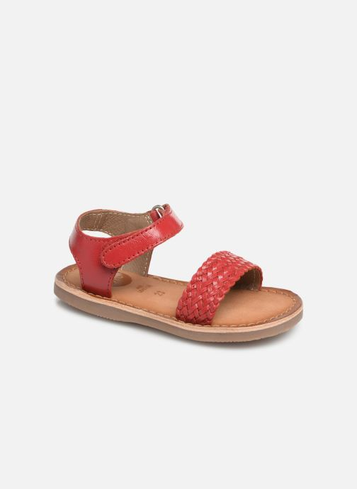 Sandals Gioseppo ODERZO Red detailed view/ Pair view