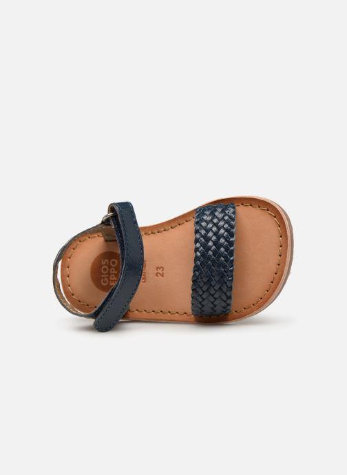 Sandales et nu-pieds Gioseppo ODERZO Bleu vue gauche