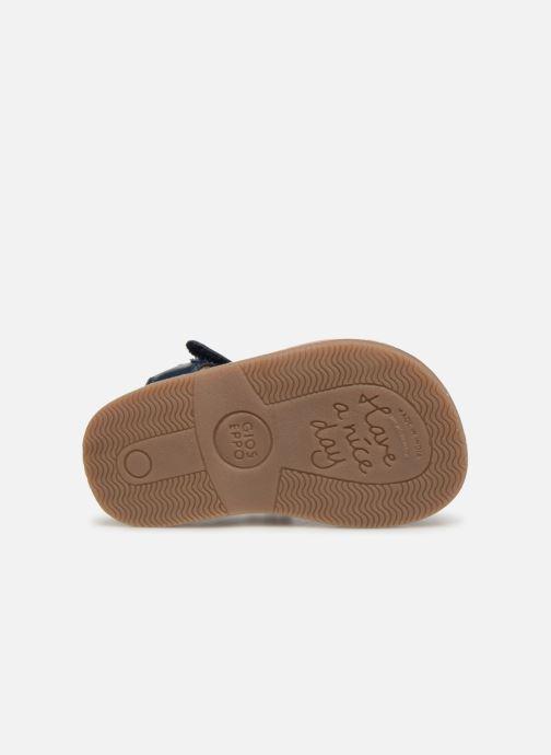 Sandales et nu-pieds Gioseppo ODERZO Bleu vue haut