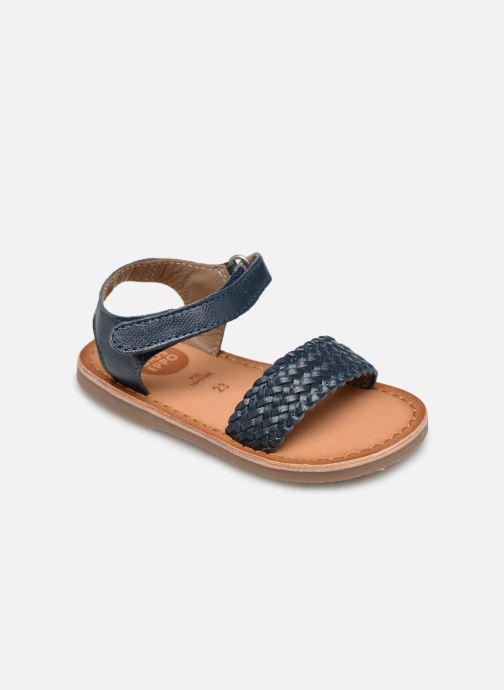 Sandales et nu-pieds Gioseppo ODERZO Bleu vue détail/paire