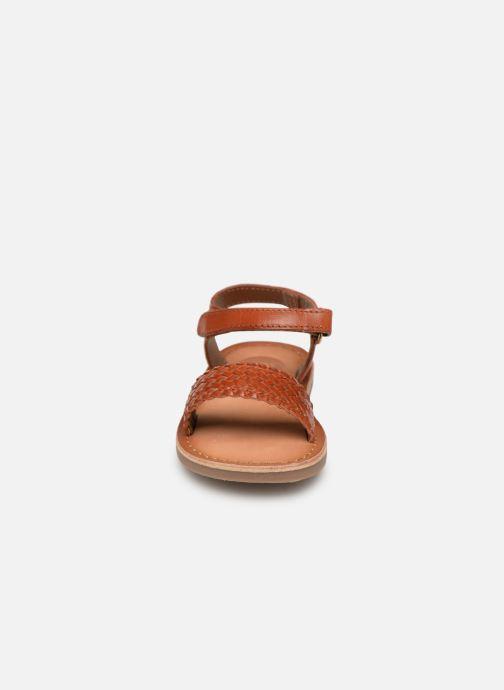Sandales et nu-pieds Gioseppo ODERZO Marron vue portées chaussures