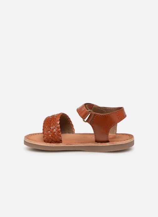 Sandales et nu-pieds Gioseppo ODERZO Marron vue face