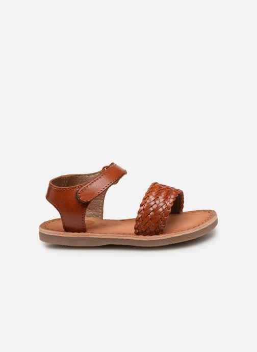 Sandals Gioseppo ODERZO Brown back view