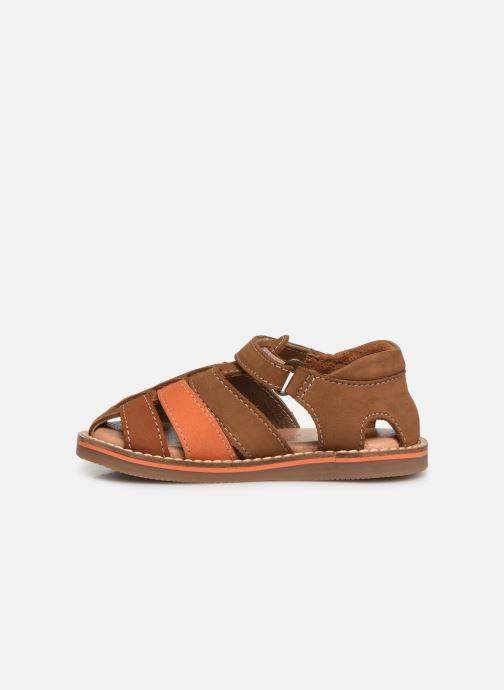 Sandales et nu-pieds Gioseppo ORVIETO Marron vue face