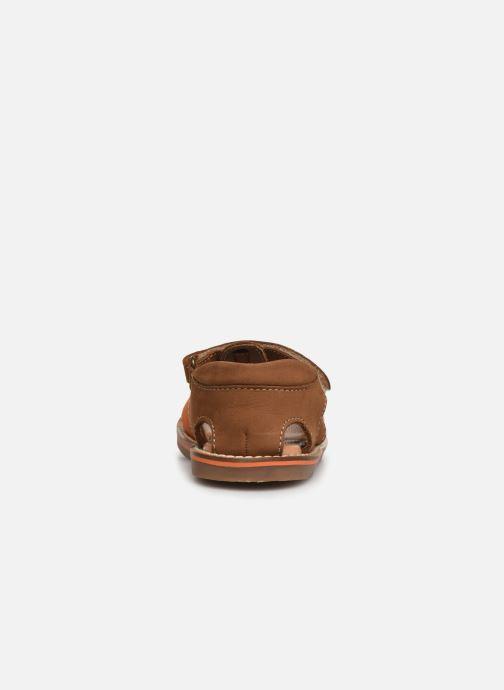 Sandales et nu-pieds Gioseppo ORVIETO Marron vue droite