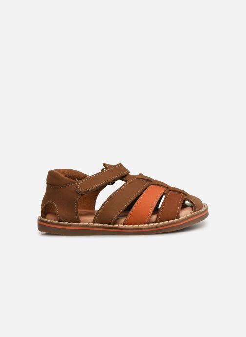 Sandales et nu-pieds Gioseppo ORVIETO Marron vue derrière