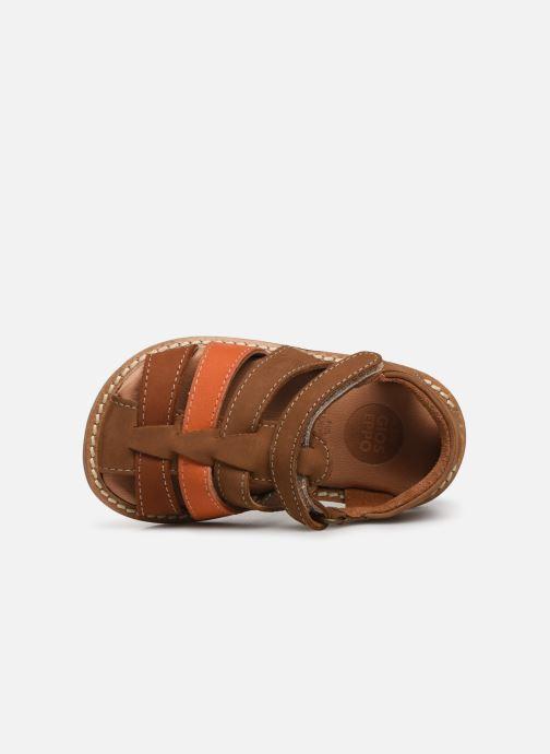 Sandales et nu-pieds Gioseppo ORVIETO Marron vue gauche