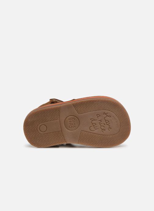 Sandales et nu-pieds Gioseppo ORVIETO Marron vue haut