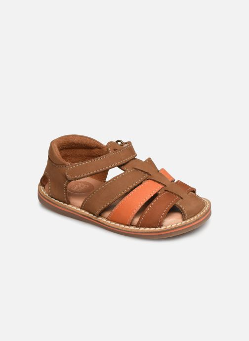 Sandales et nu-pieds Gioseppo ORVIETO Marron vue détail/paire