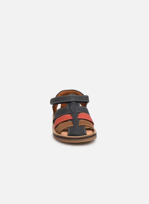 Sandales et nu-pieds Gioseppo ORVIETO Bleu vue portées chaussures