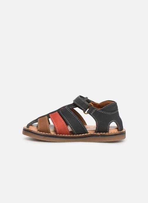 Sandales et nu-pieds Gioseppo ORVIETO Bleu vue face