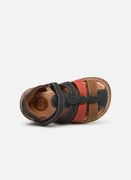 Sandales et nu-pieds Gioseppo ORVIETO Bleu vue gauche