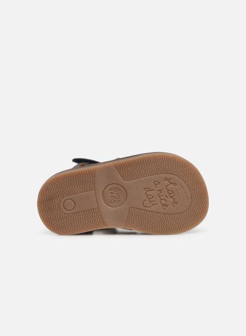 Sandales et nu-pieds Gioseppo ORVIETO Bleu vue haut
