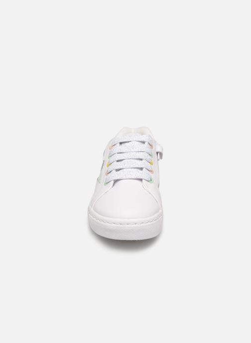 Baskets Gioseppo GABICCE Blanc vue portées chaussures
