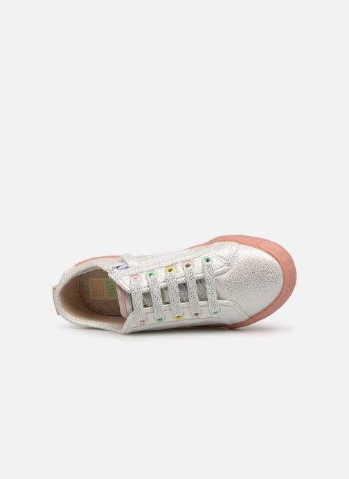 Trainers Gioseppo FANO Silver view from the left