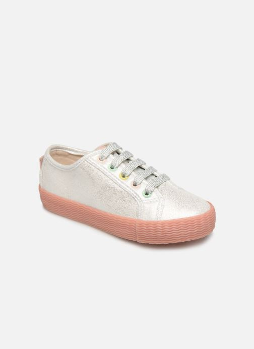 Trainers Gioseppo FANO Silver detailed view/ Pair view