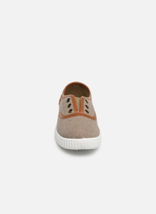 Baskets Gioseppo BOUSCAT Marron vue portées chaussures