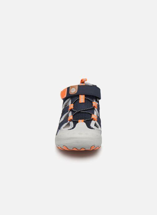 Sandales et nu-pieds Gioseppo BAYAMO Bleu vue portées chaussures