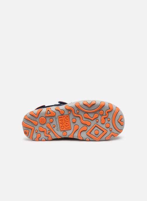 Sandales et nu-pieds Gioseppo BAYAMO Bleu vue haut