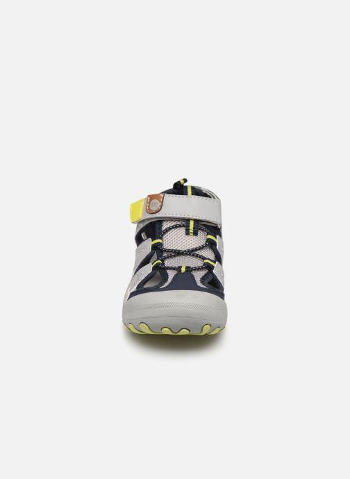 Sandales et nu-pieds Gioseppo BAYAMO Gris vue portées chaussures