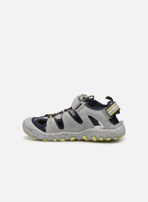 Sandales et nu-pieds Gioseppo BAYAMO Gris vue face