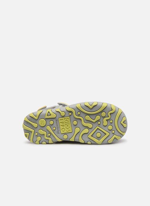 Sandales et nu-pieds Gioseppo BAYAMO Gris vue haut