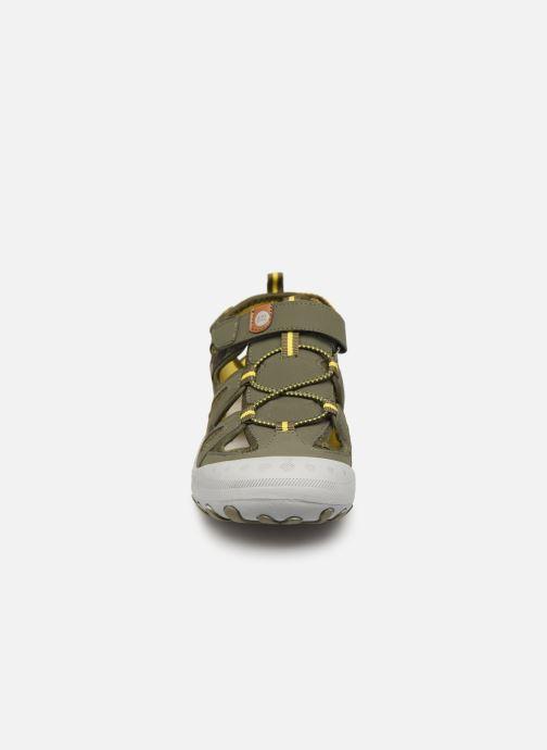 Sandales et nu-pieds Gioseppo URUAPAN Vert vue portées chaussures