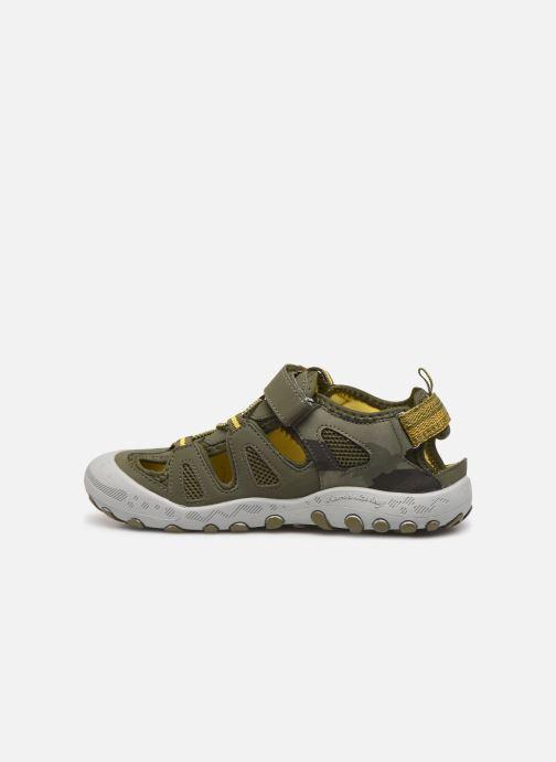 Sandales et nu-pieds Gioseppo URUAPAN Vert vue face