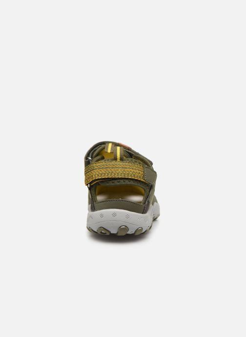 Sandales et nu-pieds Gioseppo URUAPAN Vert vue droite