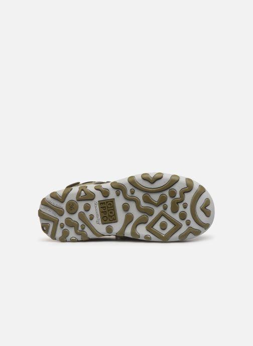 Sandales et nu-pieds Gioseppo URUAPAN Vert vue haut