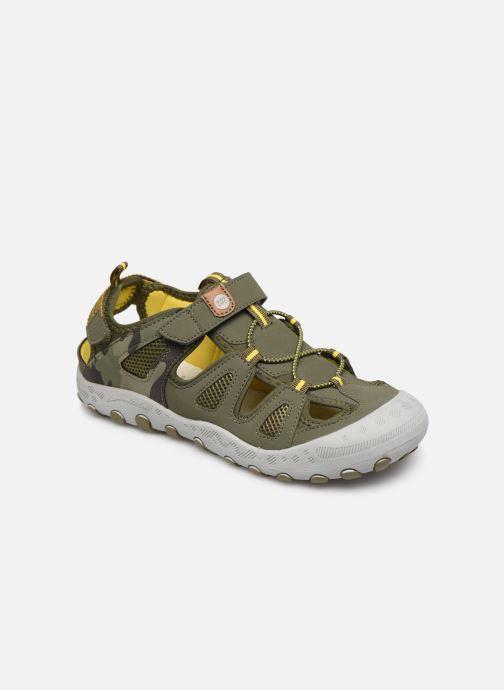 Sandales et nu-pieds Gioseppo URUAPAN Vert vue détail/paire